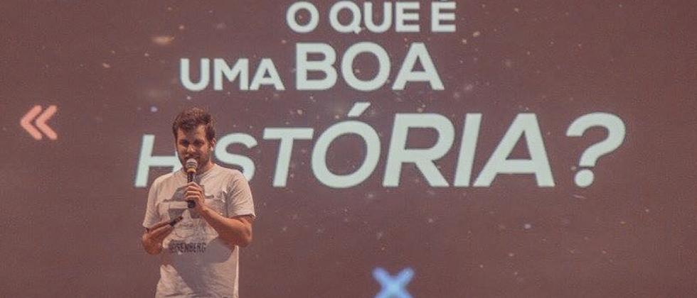 Rodrigo Portaro conduz palestra de Storytelling
