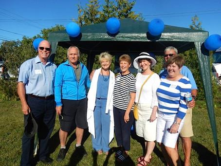 LLSC Helps Celebrate Kivi Park Opening