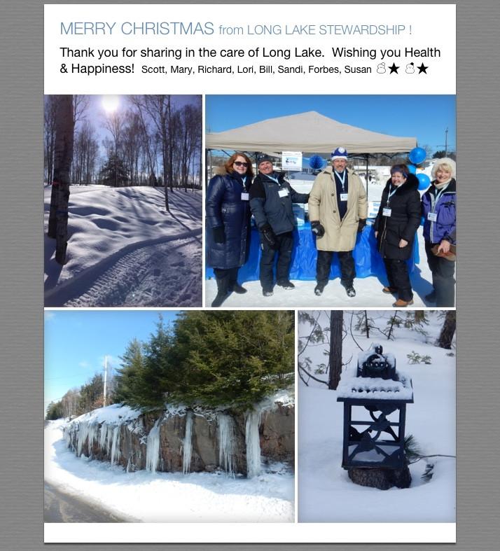 Merry Christmas from Long Lake Stewardship