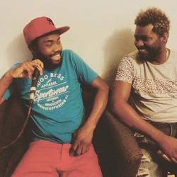Deux membres du groupe KDM