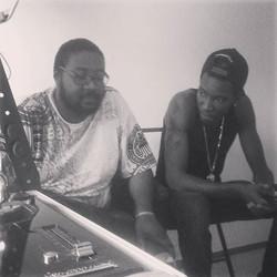 Enok et kartel  en direct au studio