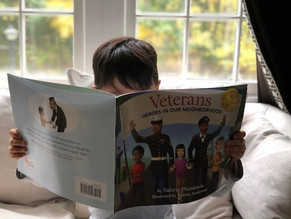 Bookshelf Spotlight: Veterans -- Heroes in Our Neighborhood