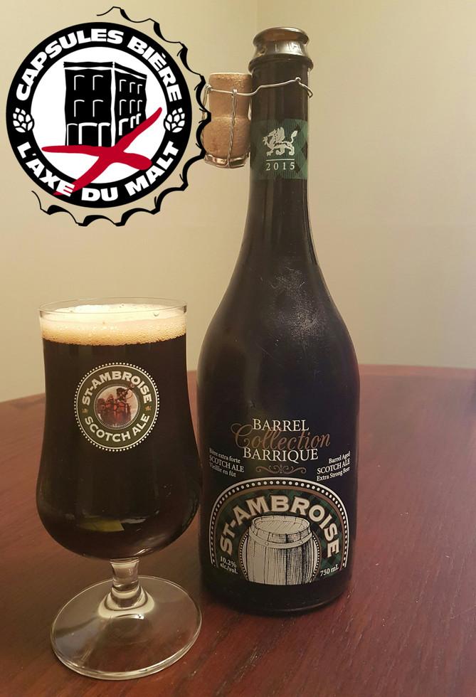 St-Ambroise Scotch Ale Collection Barrique