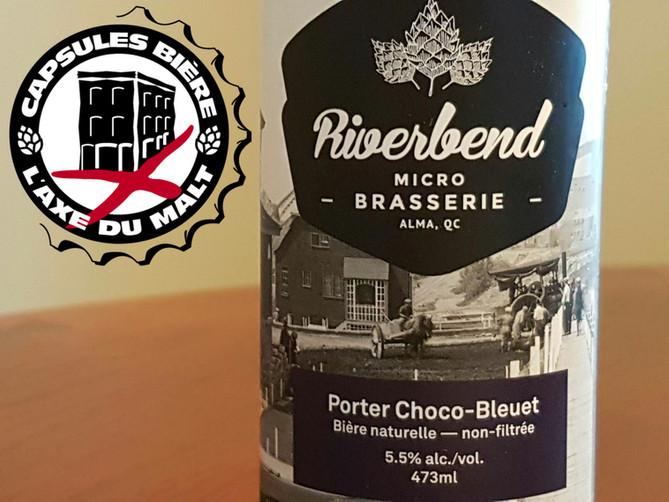 Porter Choco-Bleuet - Microbrasserie Riverbend