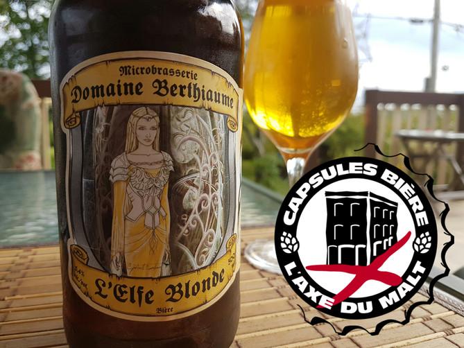 L'Elfe Blonde - Domaine Berthiaume
