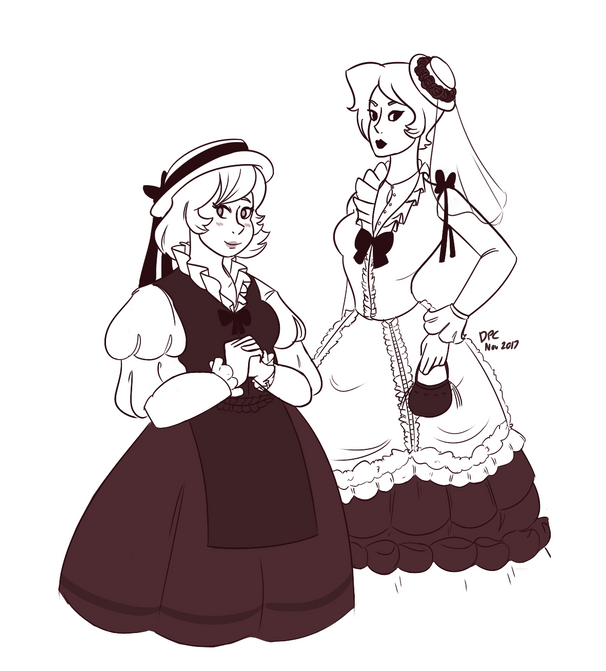 Old timey beach wear!