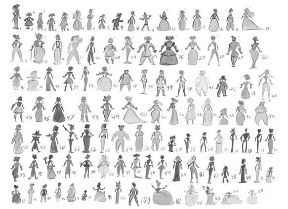 105 Dresses