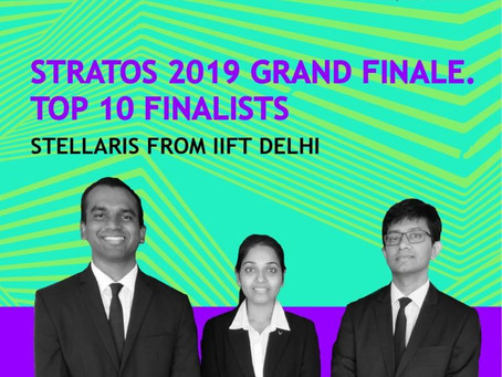 IIFT Students proceed in the prestegious ABG Stratos 2019 competition