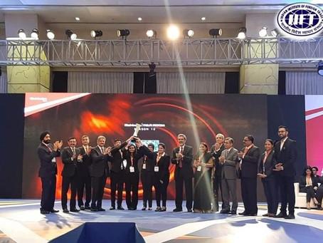 IIFT wins Mahindra War Room 2019!