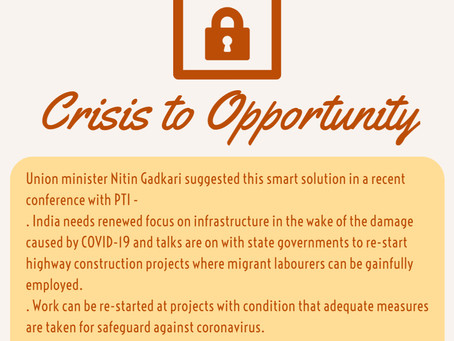 Crisis to Opportunity