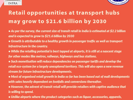 Retail opportunities at Transport Hubs