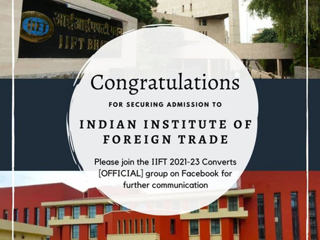 IIFT 2021-23 Results