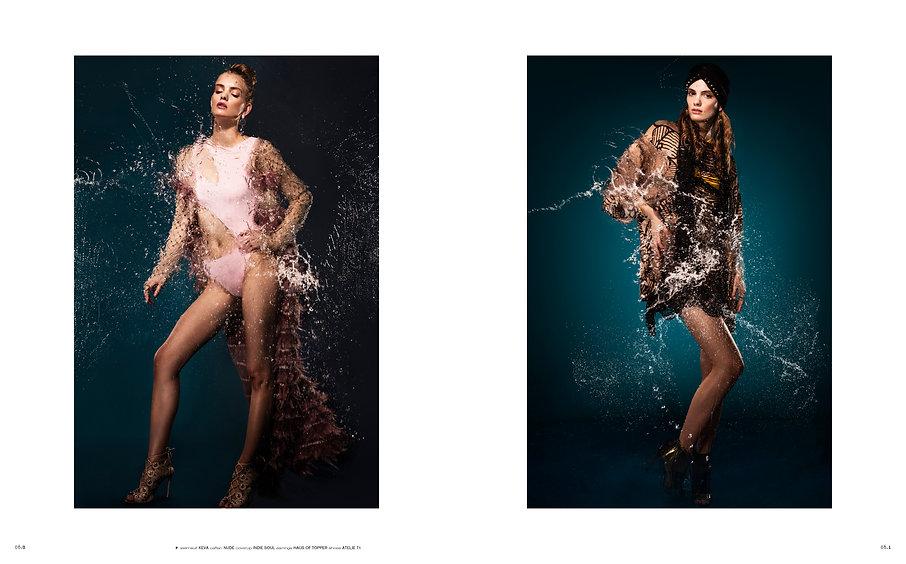 noise 35 magazine fashion limited edition ben de lisi keva haus of topper beauty