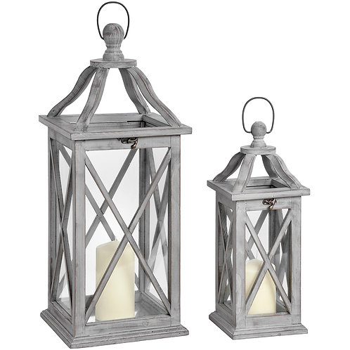 Grey Cross Lanterns