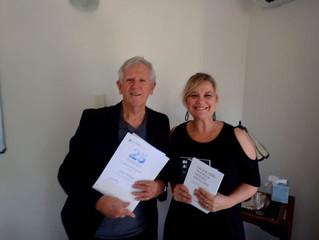 KSP Presents Volunteer Service Award to Glen Phillips