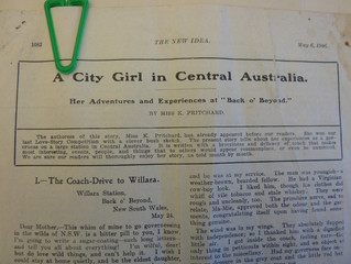 "Your KS #11: ""A City Girl in Central Australia"""