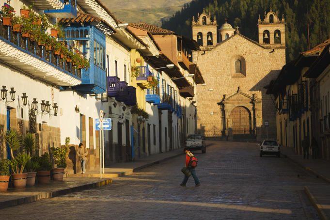 Quiet Sunday in Peru
