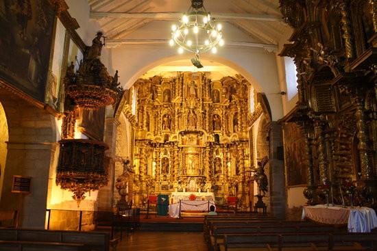 San Blas Cusco Church Interior
