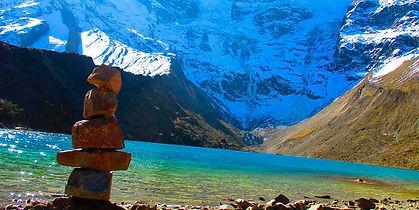 Humantay Lake on Salkantay Trek to Machu Picchu