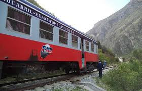 The budget travel option for train travel in Peru