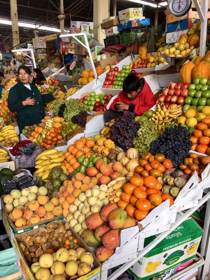 The San Pedro Market in Cusco