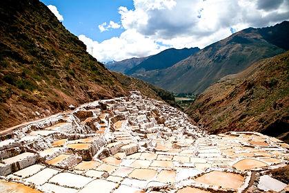 Maras in Sacred Valley on the Group Salkantay Trek