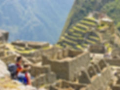 A Private Inca Trail trek on the final day at Machu Picchu
