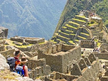 A Private Inca Trail trek on the final day at Machu Picchu