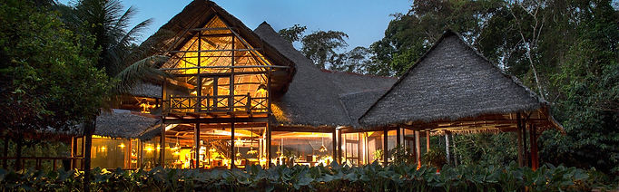 A perfect Eco Lodge in Amazon of Peru -- the Inkaterra
