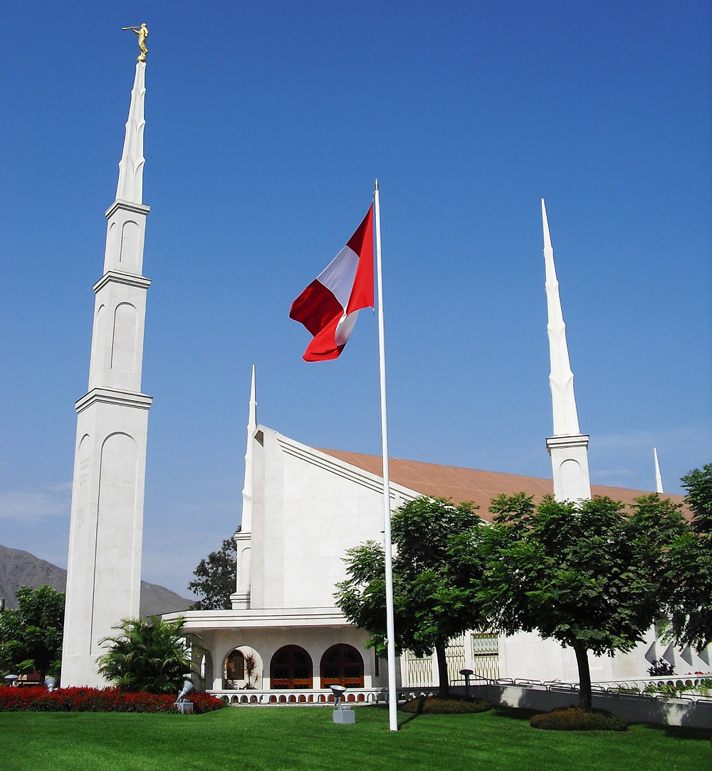 LDS Temple in Peru in La Molina. An LDS Temple in Arequipa is also under construction