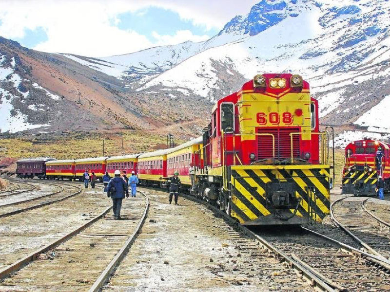 The Huancayo Train offers seasonal departures from Lima to Huancayo