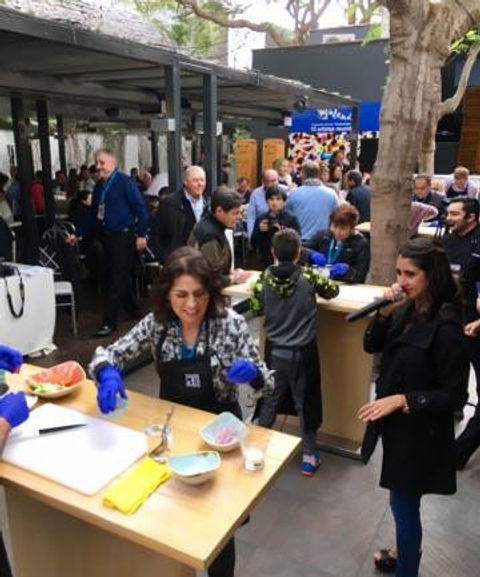 Concurso de Ceviche en Barranco