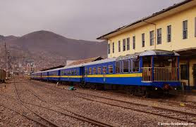 The much less expensive Puno to Cusco Train -- the Titicaca train