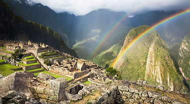 A stunning finish Machu Picchu after travel from Puno to Cusco