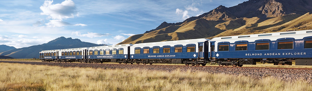 The ultimate Peru luxury train -- the Andean Explorer