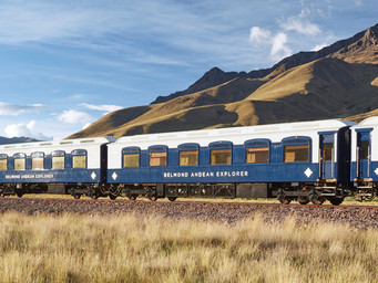 The Andean Explorer is the Star of Luxury Travel to Peru