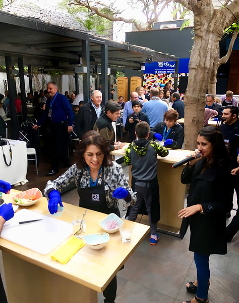 MICE DMC Event in Lima - Ceviche Cooking Contest