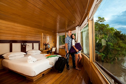 Iquitos Amazon Cruises Leave you in Luxury