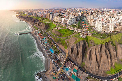 Malecon of Lima Peu