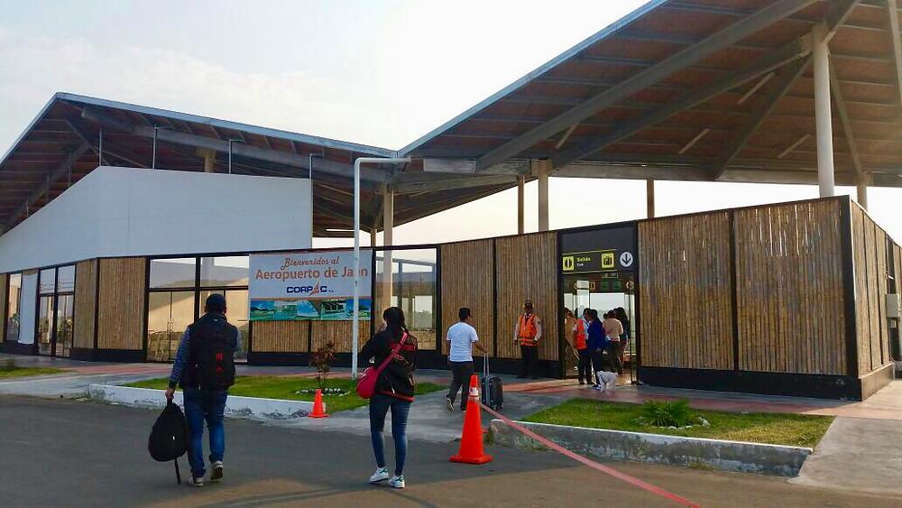 The tiny Jaen airport Peru