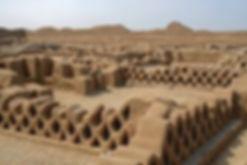 Chan Chan ruins near Trujillo