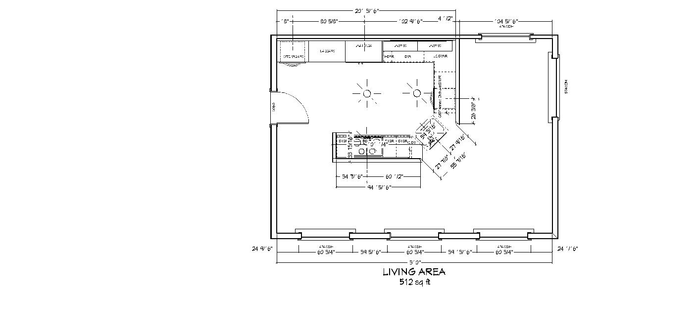 Computer Aided Floor Plan Example 10