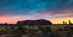 Commended Uluru at Dawn
