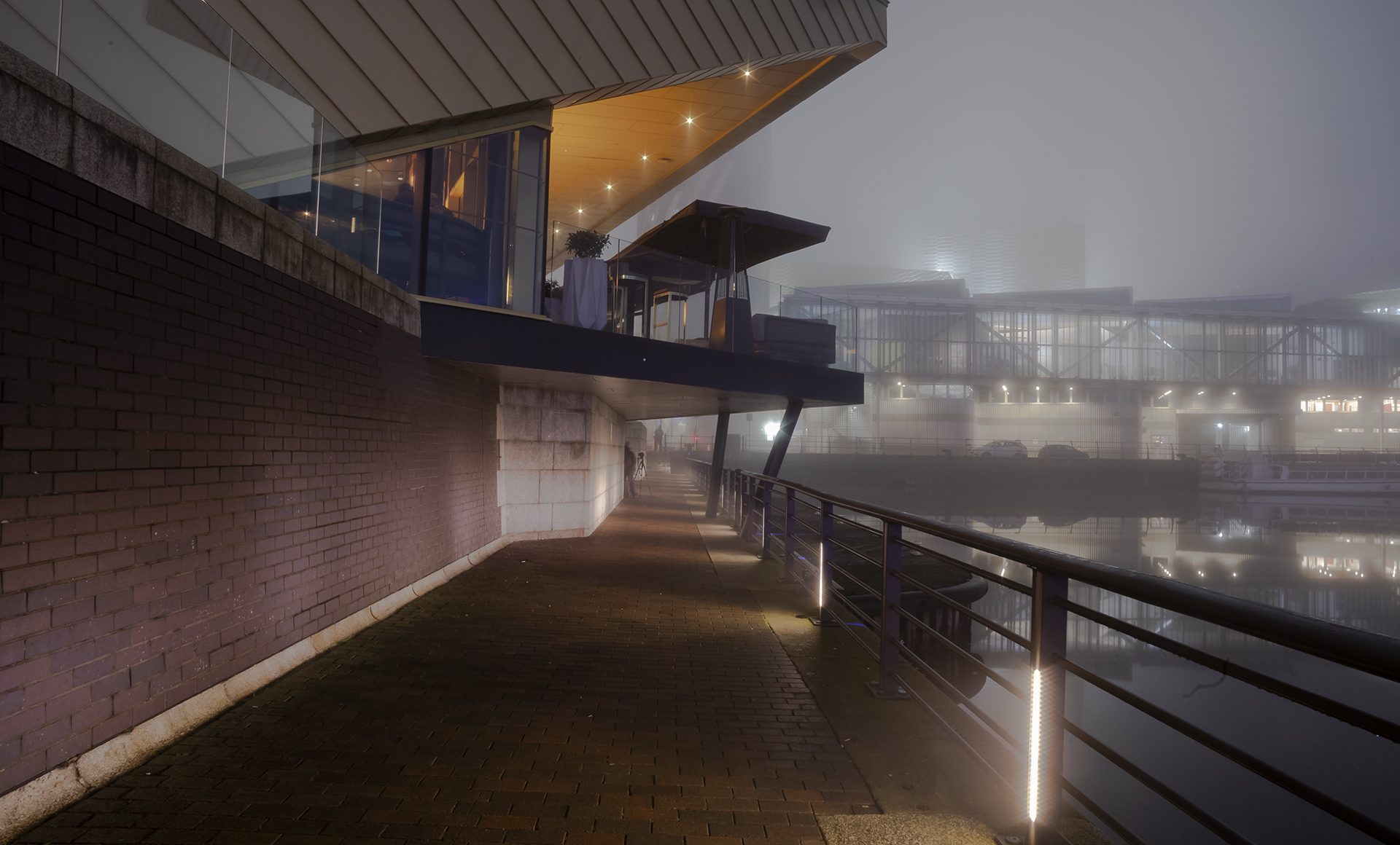 2nd Place Foggy Night in Salford