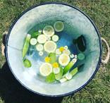 🍋🥒Lemon and Cucumber Sensory bucket 🥒