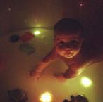 ✨ Disco Bath ✨  These light up ice cubes
