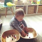 🌈 Pom Pom Fine Motor Play 🌈  This morn