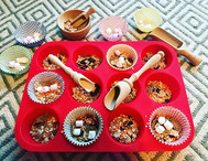 ♻️ Pantry raid cupcakes ♻️ Today we're r