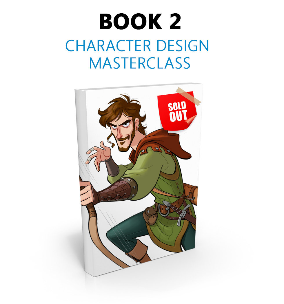Masters Of Anatomy Book 2: Character Design Masterclass