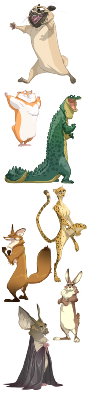 masters_of_anatomy_cartoon_animals_stand